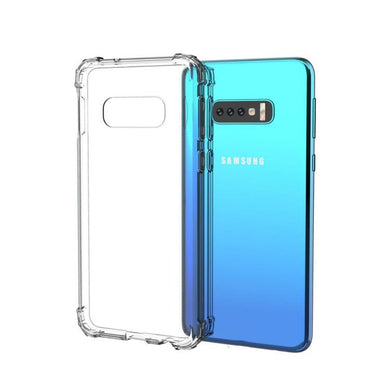 AMZER Pudding TPU X Protection Soft Skin Case for Samsung Galaxy S10 Lite - Clear - amzer