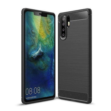 AMZER Rugged Armor Carbon Fiber Design ShockProof TPU for Huawei P30 Pro - fommystore