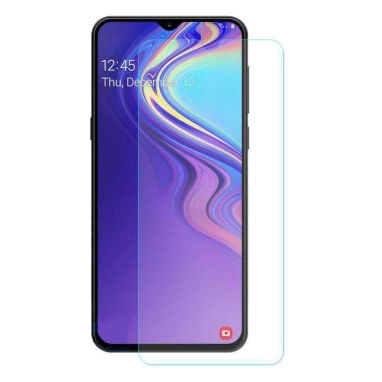 AMZER 9H 2.5D Curved Full Screen Tempered Glass Film Screen Protector For Samsung Galaxy M20 - Clear - fommystore