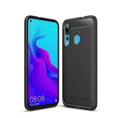 AMZER Rugged Armor Carbon Fiber Design ShockProof TPU for Huawei Nova 4 - fommystore