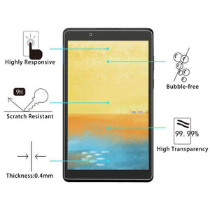 AMZER 9H Curved Full Screen Tempered Glass Film Screen Protector For Lenovo Tab E8 - Clear