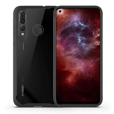 AMZER SlimGrip Hybrid Case for Huawei Nova 4 - Black - fommystore