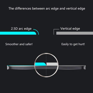 AMZER 0.26mm 9H 2.5D Privacy Anti-glare Tempered Glass Film for Huawei P Smart+ / Nova 3/ Nova 3i - fommystore