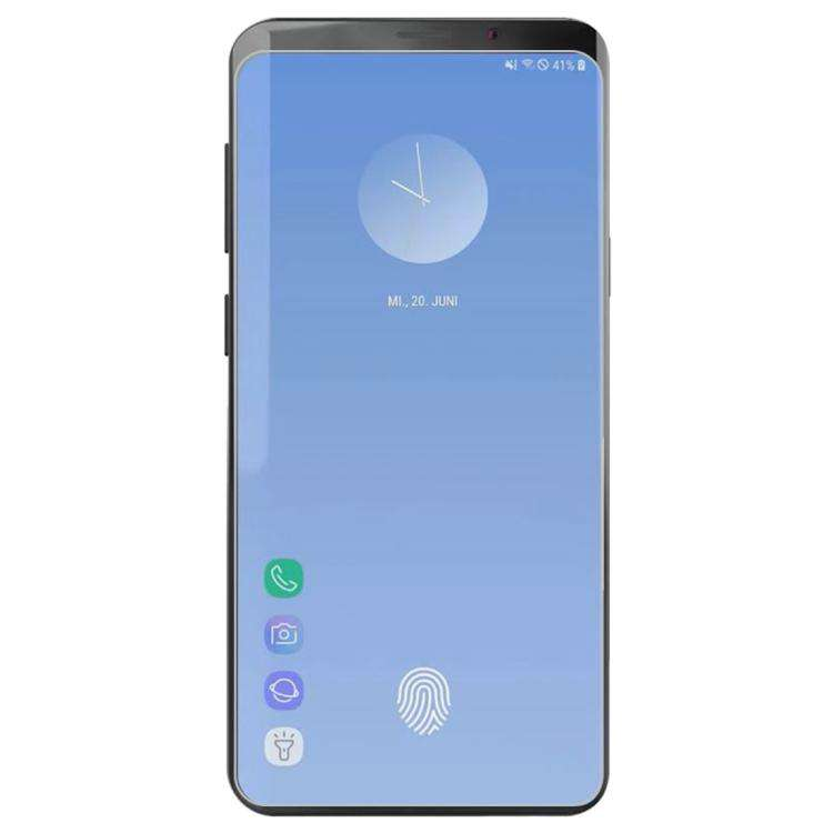 AMZER 9H 2.5D Case-friendly Tempered Glass for Samsung Galaxy S10+ (Not Compatible with in-Display Fingerprint Sensor) - fommystore