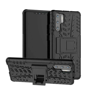 AMZER Hybrid Warrior Case for Huawei P30 Pro - Black/ Black - fommystore