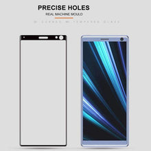 Load image into Gallery viewer, AMZER 9H 3D Curved Edge Tempered Glass Film for Sony Xperia 10 - Black - fommystore