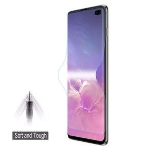 AMZER ShatterProof Full Screen Coverage Screen Protector for Samsung Galaxy S10+ - fommystore