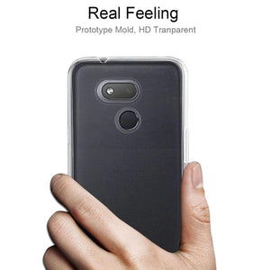 AMZER Ultra thin TPU Soft Gel Protective Case for HTC Desire 12s - Clear - fommystore