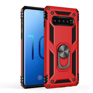 AMZER Sainik Case With 360° Magnetic Ring Holder for Samsung Galaxy S10