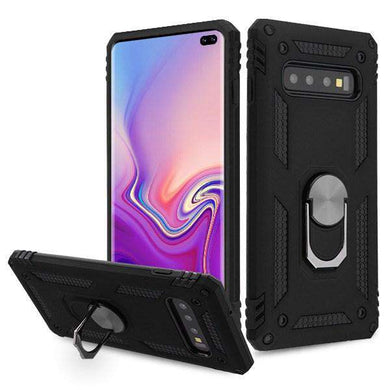 AMZER Sainik Case With 360° Magnetic Ring Holder for Samsung Galaxy S10+ - fommystore