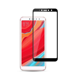 AMZER 9H 2.5D Tempered Glass Screen Protector for Xiaomi Redmi S2 / Xiaomi Redmi Y2 - Black - fommystore