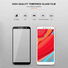 Load image into Gallery viewer, AMZER 9H 2.5D Tempered Glass Screen Protector for Xiaomi Redmi S2 / Xiaomi Redmi Y2 - Black - fommystore