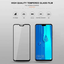 Load image into Gallery viewer, AMZER 9H 2.5D Tempered Glass Screen Protector for Huawei Y9 2019 / Huawei Enjoy 9 Plus - Black - fommystore