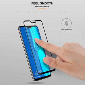 AMZER 9H 2.5D Tempered Glass Screen Protector for Huawei Y9 2019 / Huawei Enjoy 9 Plus - Black - fommystore