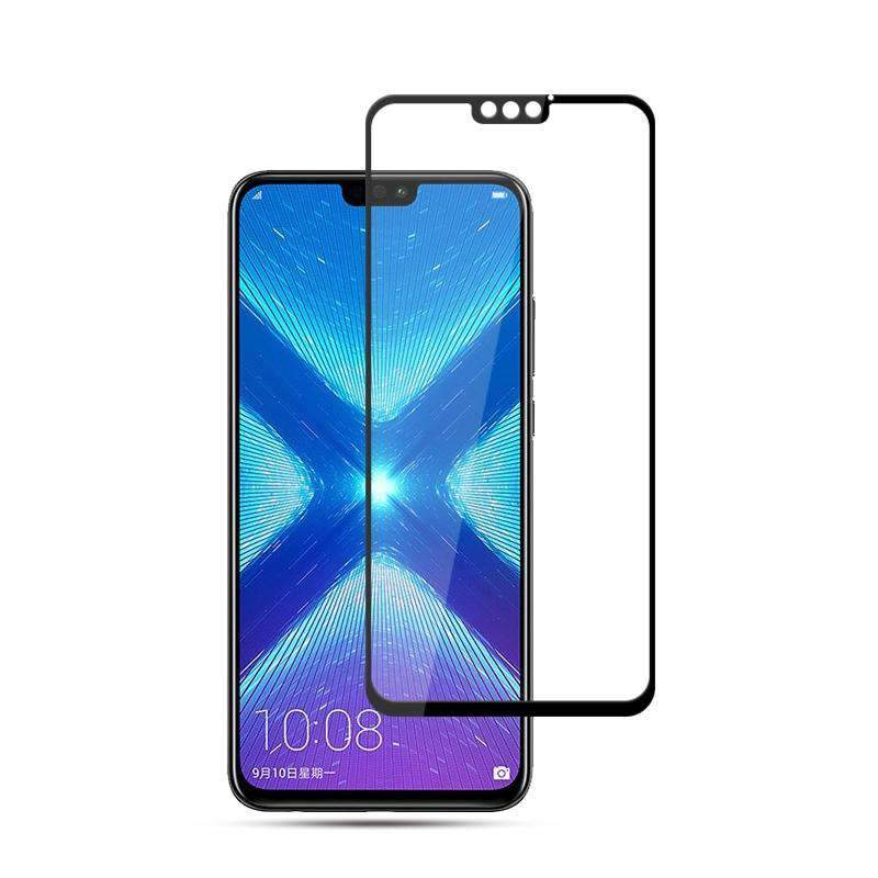 AMZER 9H 2.5D Tempered Glass Screen Protector for Huawei Honor 8X / Honor View 10 Lite - Black - fommystore