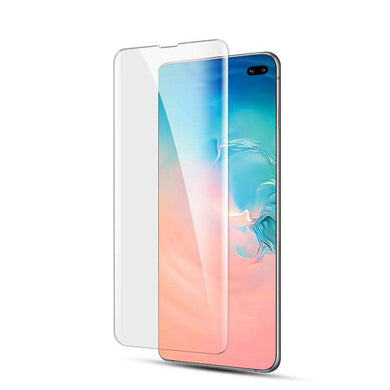 AMZER 9H 3D Full Screen Film Screen Protector for Samsung Galaxy S10 Plus (Support Fingerprint Unlock)