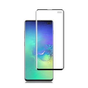 AMZER 9H 3D Full Screen Film Screen Protector for Samsung Galaxy S10+ (Support Fingerprint Unlock) - fommystore