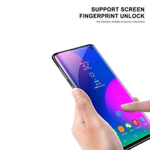 Load image into Gallery viewer, AMZER 9H 3D Full Screen Film Screen Protector for Samsung Galaxy S10+ (Support Fingerprint Unlock) - fommystore