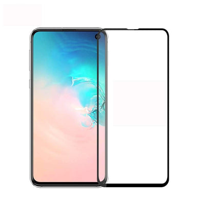 AMZER 9H 2.5D Tempered Glass Screen Protector for Samsung Galaxy S10e - Black - fommystore