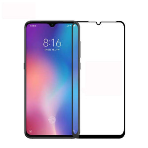 AMZER 9H 2.5D Tempered Glass Screen Protector for Xiaomi Mi 9 - Black - fommystore