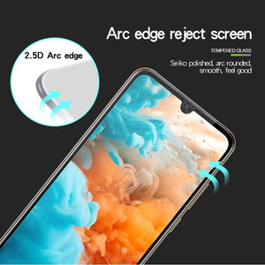 AMZER 9H 2.5D Tempered Glass Screen Protector for Huawei Y6 2019 / Huawei Y6 Prime 2019 - Black - fommystore