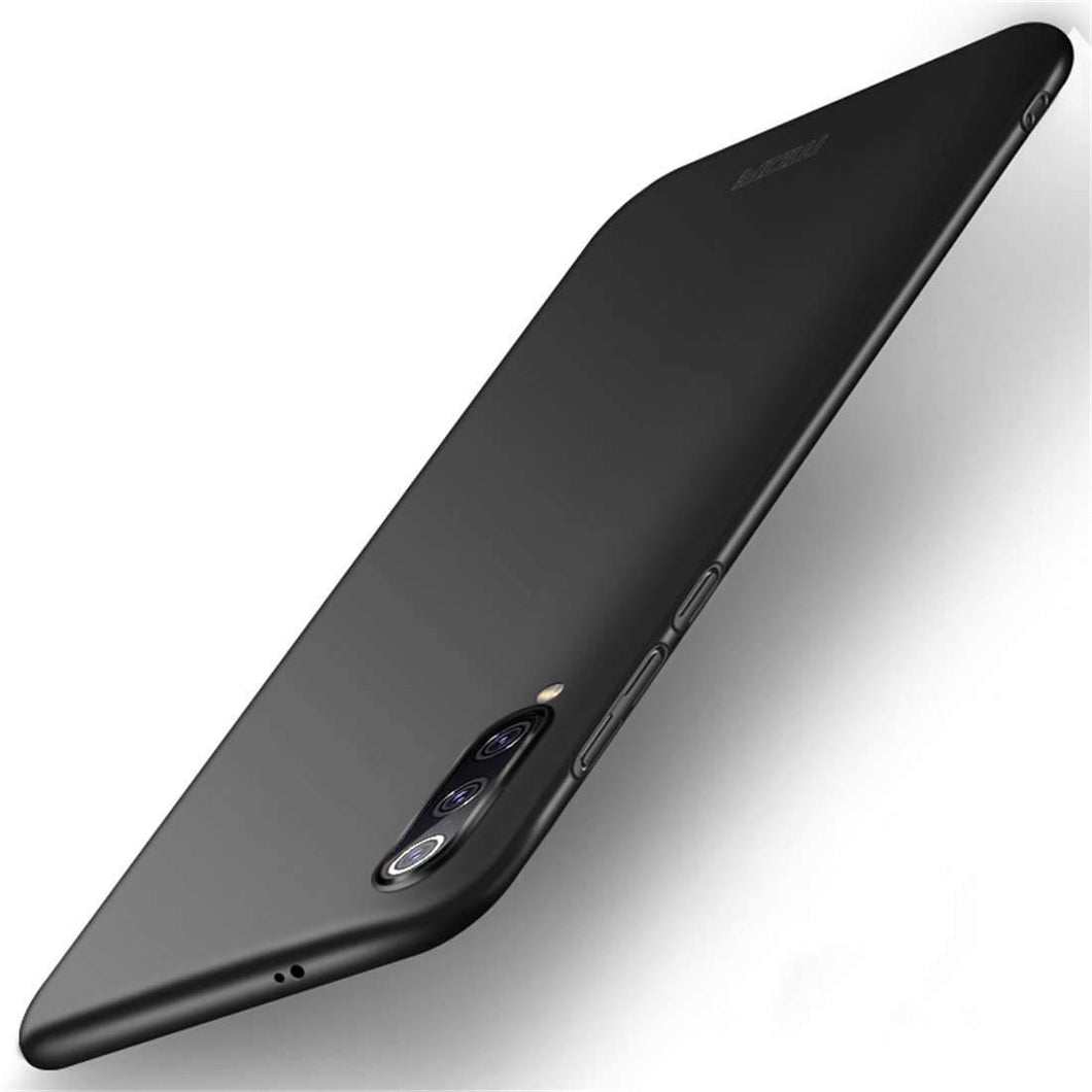 AMZER Frosted PC Ultra-thin Full Coverage Case for Xiaomi Mi 9 - Black - fommystore