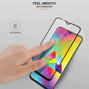 AMZER 9H Curved 2.5D Edge2edge Tempered Glass for Samsung Galaxy M20 - Black - fommystore