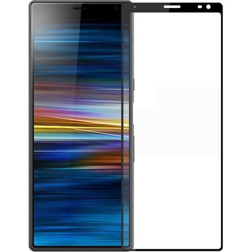 AMZER 9H 2.5D Tempered Glass Screen Protector for Sony Xperia 10 Plus - Black - fommystore