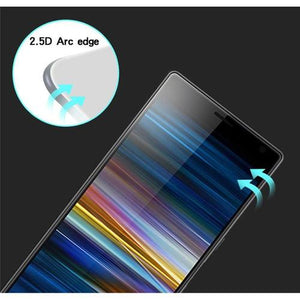 AMZER 9H 2.5D Tempered Glass Screen Protector for Sony Xperia X10 Plus - Black