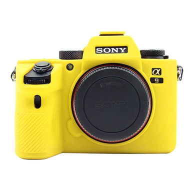 AMZER Soft Silicone Protective Case for Sony A9 / ILCE-9 - Yellow - fommystore