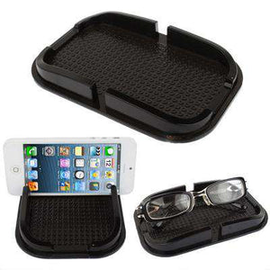 Universal Mobile Phone Car Rubber Smart Non-slip Stand Holder - Black - fommystore