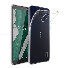 Load image into Gallery viewer, AMZER Ultra Slim Clear TPU Soft Protective Case for Nokia 1 Plus