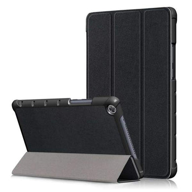 AMZER Texture Horizontal Flip Leather Case With 3-Fold Holder for Huawei MediaPad M5 lite 10.1