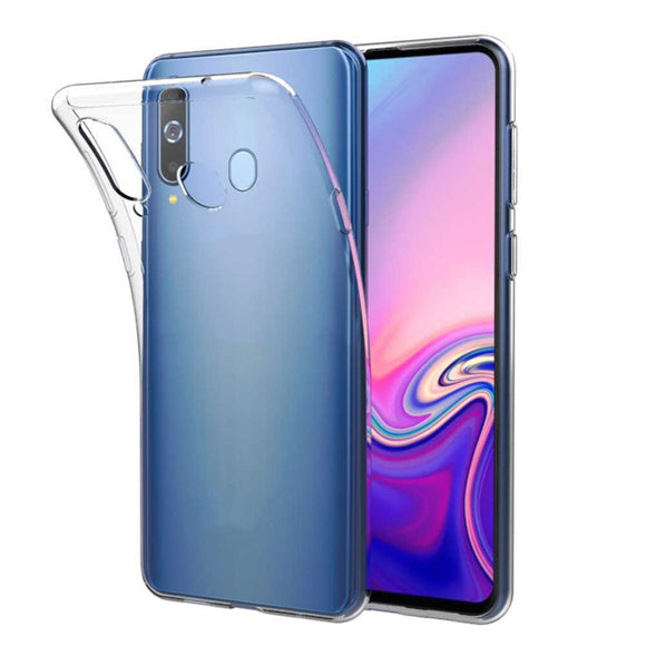 AMZER Ultra Slim Clear TPU Soft Protective Case for Samsung Galaxy A60