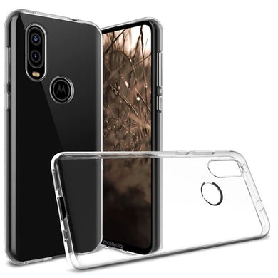 AMZER Ultra Slim Clear TPU Soft Protective Case for Motorola P40
