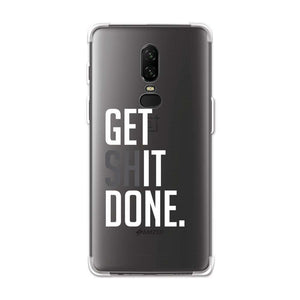 AMZER Soft Gel Clear TPU Case for OnePlus 6