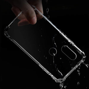 AMZER Ultra Slim TPU ShockProof Bumper Case for Xiaomi Redmi Note 5 Pro