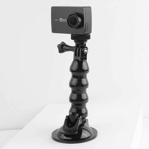 AMZER Suction Cup Jaws Flex Clamp Mount for DJI Osmo Action, GoPro NEW HERO / HERO 7 / 6 / 5 / 4