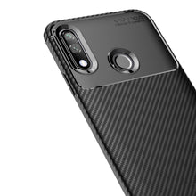 Load image into Gallery viewer, AMZER Rugged Armor Carbon Fiber Design ShockProof TPU for LG W10 - Black
