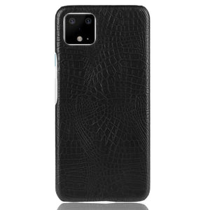AMZER Shockproof TPU Case With Texture for Google Pixel 4 - Black
