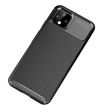 Load image into Gallery viewer, AMZER Rugged Armor Carbon Fiber Design ShockProof TPU for Google Pixel 4XL - Black