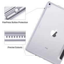Load image into Gallery viewer, AMZER SlimGrip Hybrid Bumper Case for Apple iPad Air 10.5 2019/ Apple iPad Pro 10.5 - Clear