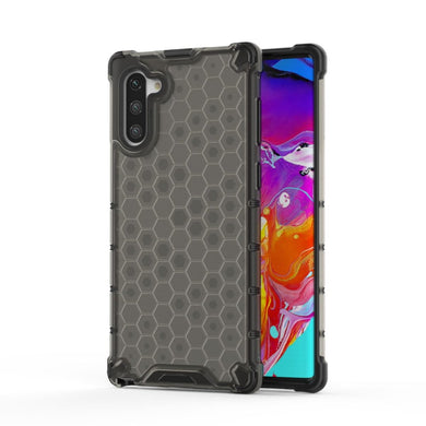 AMZER Honeycomb SlimGrip Hybrid Bumper Case for Samsung Galaxy Note 10