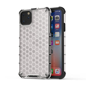 AMZER Honeycomb SlimGrip Hybrid Bumper Case for iPhone 11