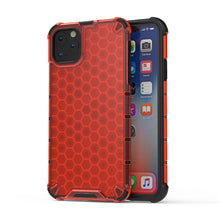 Load image into Gallery viewer, AMZER Honeycomb SlimGrip Hybrid Bumper Case for iPhone 11