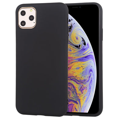 AMZER Shockproof Silicone Skin Jelly Case for iPhone 11 Pro - Black - fommystore