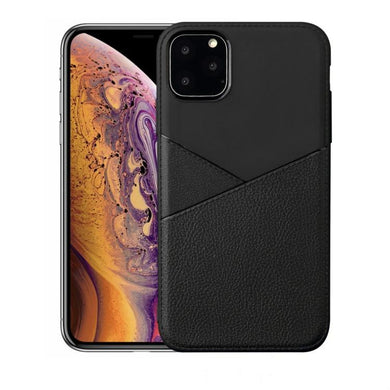 AMZER Shockproof Soft TPU Leather Protective Case for iPhone 11 Pro