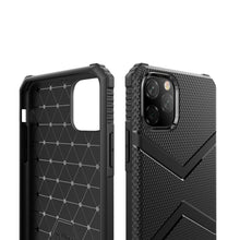 Load image into Gallery viewer, AMZER Diamond Design TPU Protective Case for iPhone 11 Pro Max - Black - fommystore