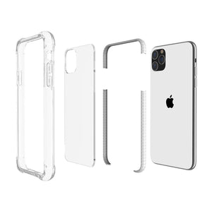 AMZER SlimGrip Bumper Hybrid Case for iPhone 11 Pro Max - Black - fommystore