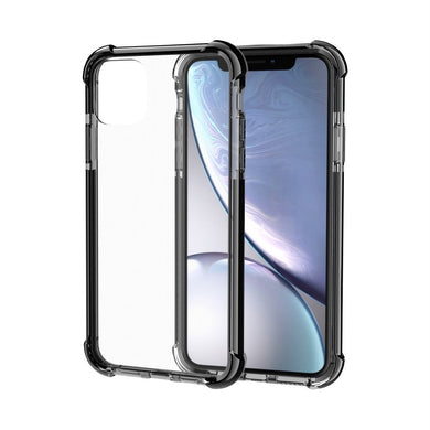 AMZER SlimGrip Bumper Hybrid Case for iPhone 11 - Black - fommystore